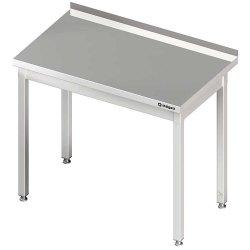 Stół przyścienny bez półki 1200x700x850 mm skręcany STALGAST 611127 611127