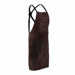 Fartuch spawalniczy - dwoina bydlęca - rozmiar L - brązowy Stamos 10021103 SWA03L