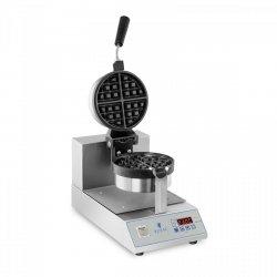 Gofrownica - LED - 1300 W - obrotowa ROYAL CATERING 10010338 RCWM-1300-RE