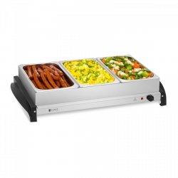 Podgrzewacz do potraw - 3 x 2 l - 400 W ROYAL CATERING 10010761 RCHP-400/3