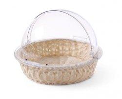 Koszyk do pieczywa z pokrywą Rolltop okrągły HENDI 426951 426951
