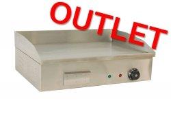 OUTLET | Płyta grillowa elektryczna gładka 55cm