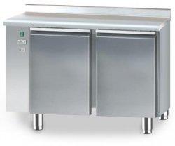 Stół chłodniczy bez agregatu o pojemności 2x95l 1125x600x850 DM-S-90002.0.0 DORA METAL DM-S-90002.0.0 DM-S-90002.0.0 600