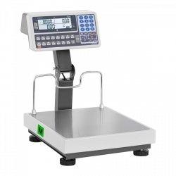 Waga sklepowa - 30 kg (10 g) / 60 kg (20 g) - legalizacja TEM 10200033 BE2CA035X040060-B1