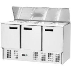Stół chłodniczy sałatkowy 3 drzwiowy STALGAST 842139 842139