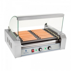 Grill rolkowy - 9 rolek - teflon ROYAL CATERING 10010471 RCHG-9T