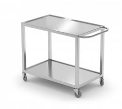 Wózek kelnerski dwupółkowy 1000 x 500 x 850 mm