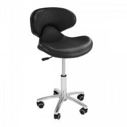 Krzesło kosmetyczne Physa Andria czarne PHYSA 10040062 ANDRIA BLACK