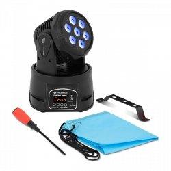 Ruchoma głowa LED - 7 x 10 W - RGBW CON.LMH-7/10/RGBW Singercon 10110232