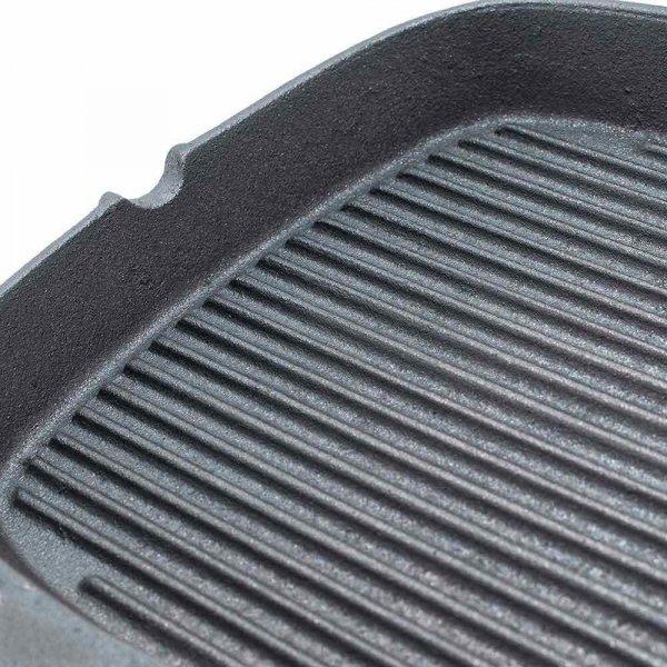 Patelnia żeliwna kwadratowa 240x240 mm