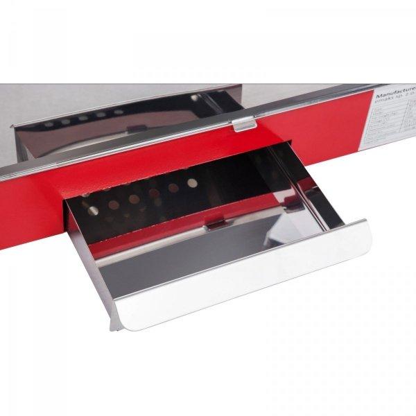 Maszyna do popcornu - czerwony daszek ROYAL CATERING 10010087 RCPR-16E