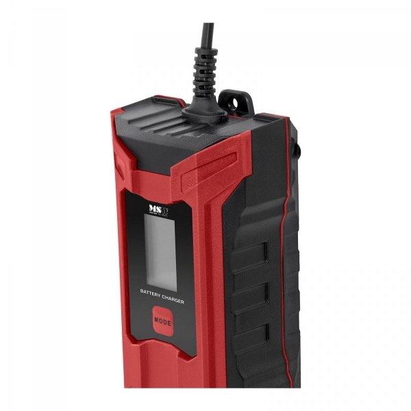 Prostownik - 6/12V - 2/4A - wyświetlacz LCD - funkcja pamięci MSW 10060501 S-CHARGER-4ALCD
