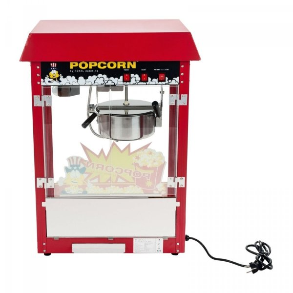 Maszyna do popcornu - wózek ROYAL CATERING 10010088 RCPW-16E
