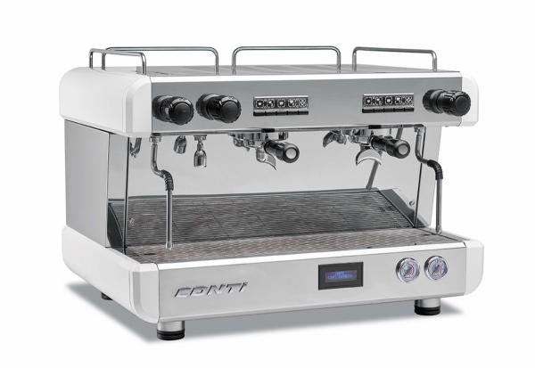 Ekspres do kawy z wyświetlaczem CC 100 CC 102 Tall Cup DWUGRUPOWY CONTI cc_102tc_w cc_102tc_w