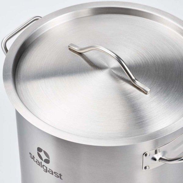 Garnek średni d 360 mm 22,4 l z pokrywką STALGAST 012365 012365