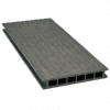 Deska tarasowa GAMRAT - kompozytowa ryflowana 25x160x2400mm Grafit Wersja N