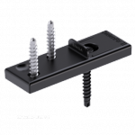 System niewidocznego montażu SIHGA DielenFix II DF Carbon 22mm (300 szt/op