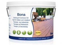 Bona olej do zewnętrznych powierzchni drewnianych i mebli orzech 2,5l