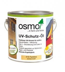 Osmo 410 Bezbarwny Standard Olej Ochronny UV 2,5l