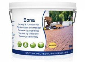 Bona olej do zewnętrznych powierzchni drewnianych i mebli biały 2,5l