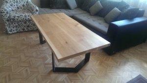 Stół lity dębowy 40x700x1450mm