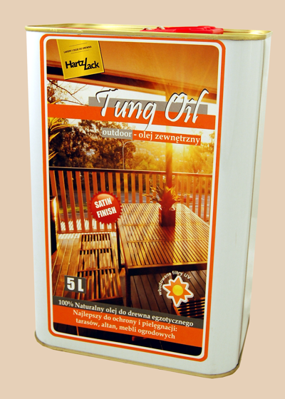 Hartzlack Tung Oil  5 l