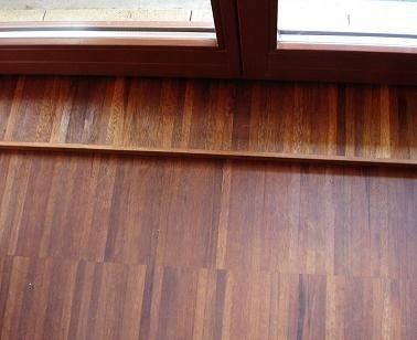 Mozaika przemysłowa Merbau 14x20x250 mm