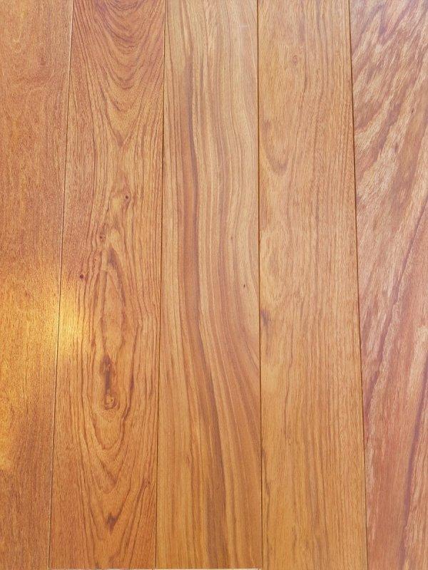 Deska warstwowa  Jatoba olejowana fazowana -14 x180x1200-2000mm