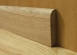 Cokół przypodłogowy 12x70mm lite drewno dąb
