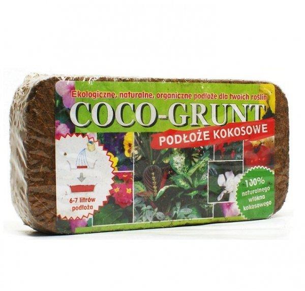 Podłoże kokosowe włókno COCO-GRUNT brykiet 0,5 kg