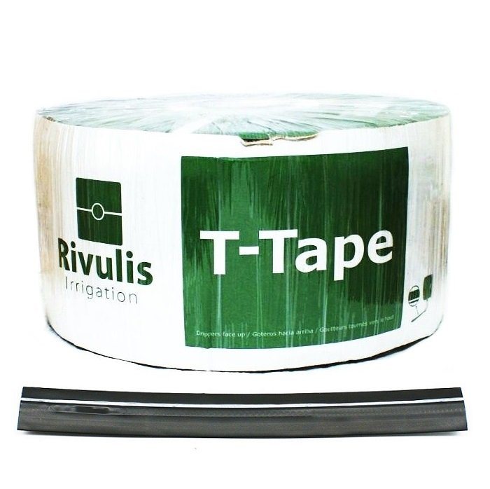 Taśma kroplująca co 10cm Rivulis T-TAPE TSX 100m