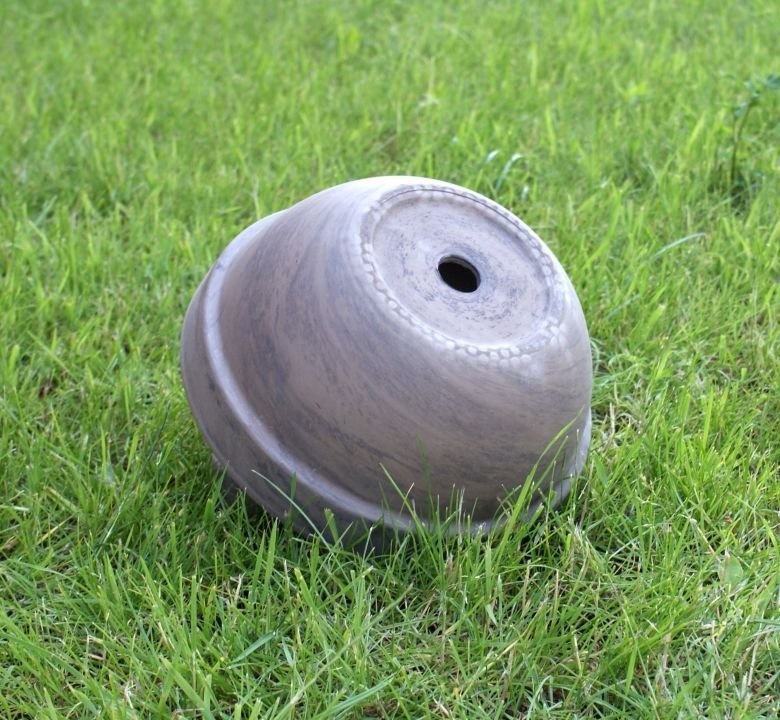 Misa gliniana bazaltowa 23cm