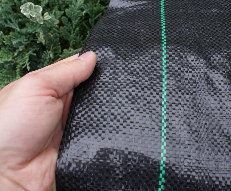 Agrotkanina czarna 80cm