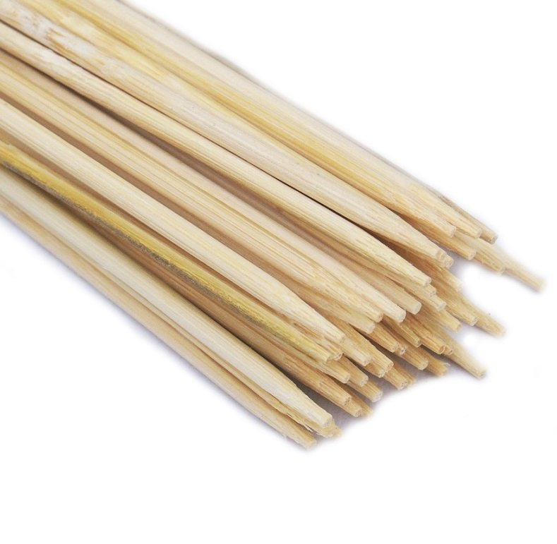 SZPILKI BAMBUSOWE 60cm patyczki z bambusa 100szt.