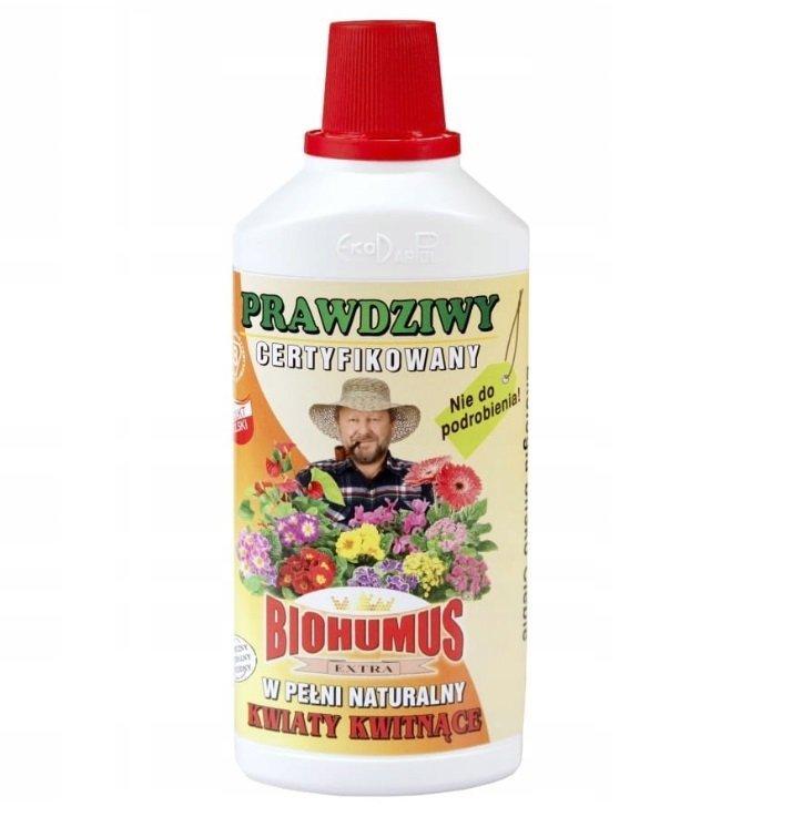 Biohumus extra kwiaty kwitnące 1L