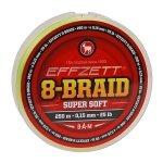 DAM EFFZETT Plecionka 8-BRAID SUPER SOFT 0,15mm 125m
