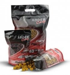 Adder Carp Pellet Zanętowy AVID 1kg 12mm Kukurydza-Konopie