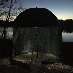 Jaxon parasol/namiot z osłoną AK-PLX125XZ + LAMPA LED