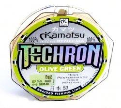 Konger Plecionka KAMATSU TECHRON Olive Green 0,04mm 100m