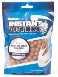 Nash INSTANT ACTION 10mm 200g - Liver and Garlic