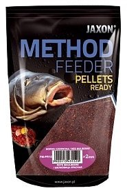 Jaxon Pellet Method Feeder Ready 2mm 500g Białe robaki