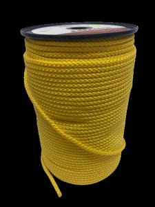Lanex PPV Lina Sznur Pleciony bez Rdzenia 6mm Yellow