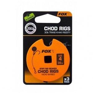 FOX Edges Przypon Chod Rig Trans Khaki r.7 25lb