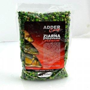 Adder Carp Ziarna preparowane Premium Lin-Karaś 1kg