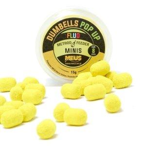 Meus Dumbells Fluo Pop-up 8mm Lemon Shock Minis