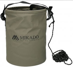 Mikado Wiaderko składane ze sznurkiem AMC-021