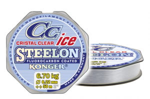 Konger Żyłka podlodowa STEELON ICE CRISTAL 0,18mm 50m