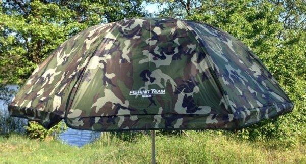 Jaxon parasol gumowany z osłoną MORO AK-PLX125CM
