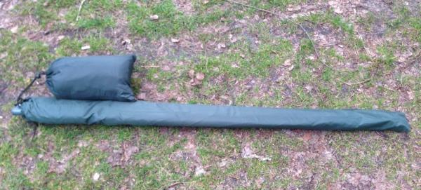 Konger parasol gumowany LUX 250cm z osłoną