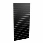 Panel sklepowy CZARNY (pionowy) ze wsuwkami aluminiowymi 90 x 200 cm F10